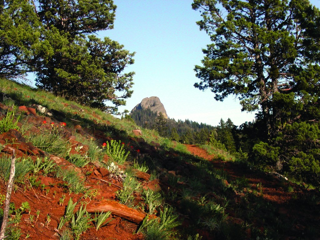 """PCTA's successful """"First Mile"""" campaign protects land around Southern Oregon's Pilot Rock."""