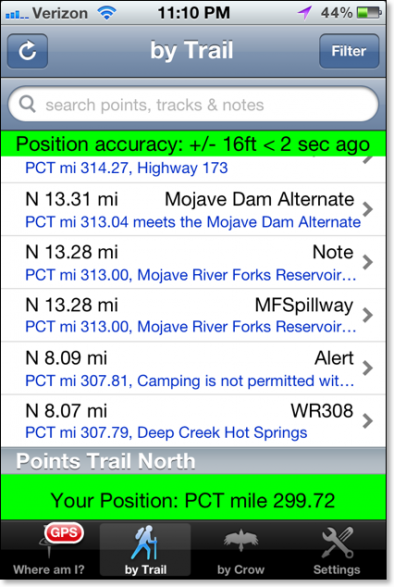 Halfmile iPhone App