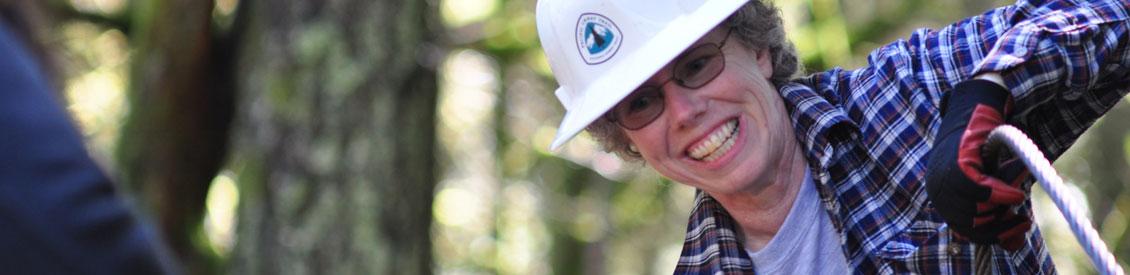Pacific Crest Trail Association volunteer.