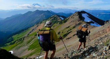 Ultralight Pacific Crest Trail hikers using Pacific Crest Trail permits.