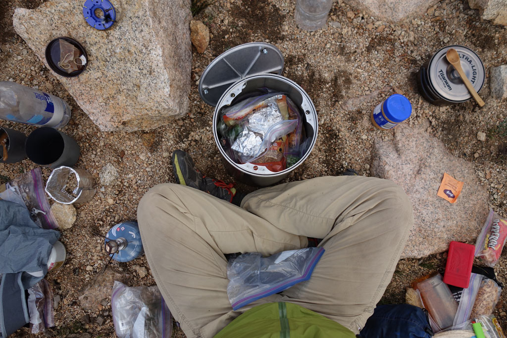 Bear canisters are required on the Pacific Crest Trail and John Muir Trail.
