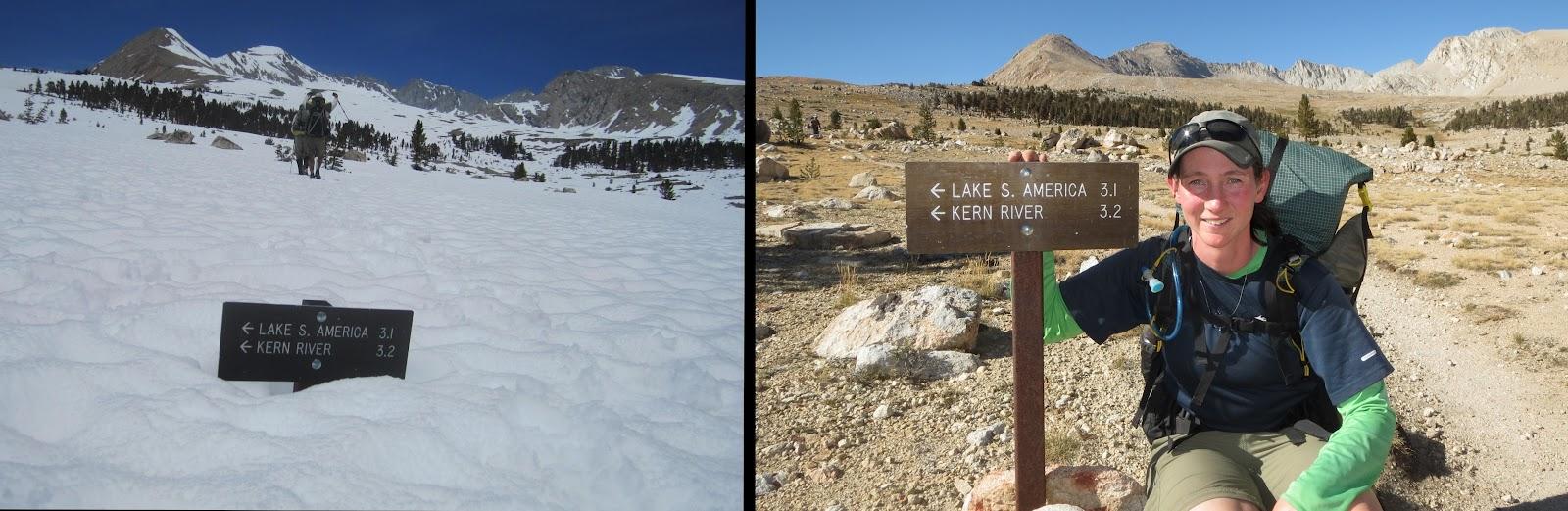 Sierra Comparison Photos Pacific Crest Trail Association