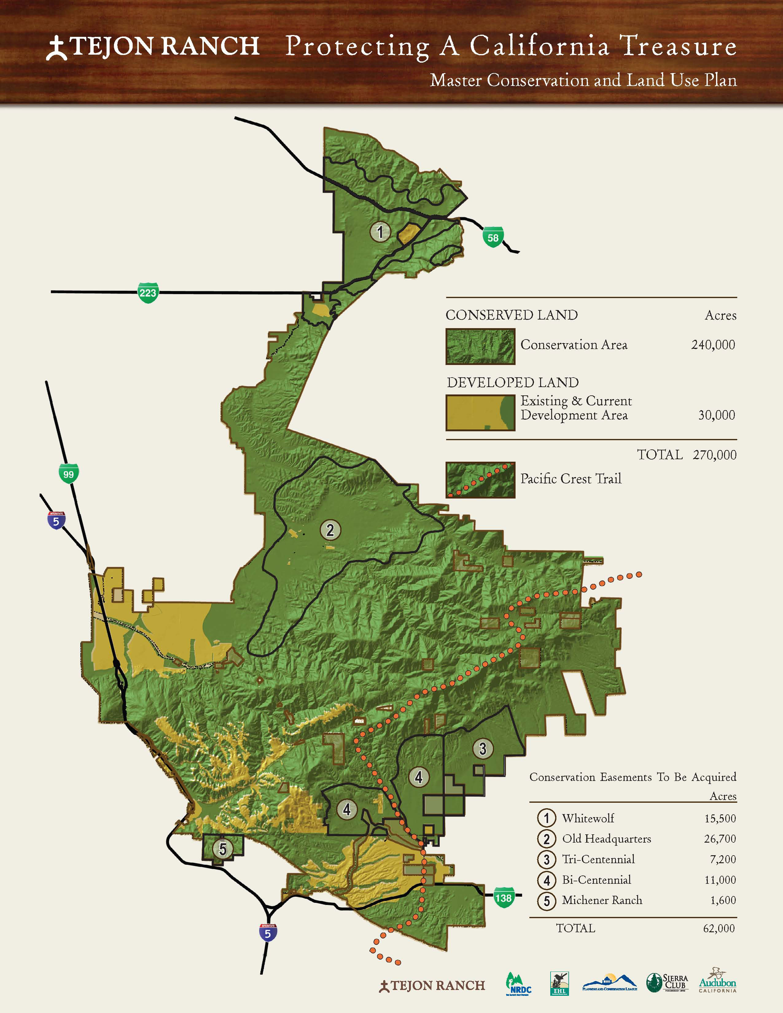 Relocating The Pct To Tejon Ranch Pacific Crest Trail Association