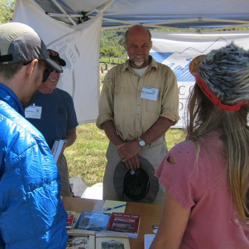 PCTA tabling. Photo by Jack Haskel