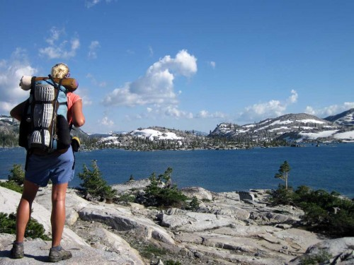 PCT hiker. Photo by Ron Kelley
