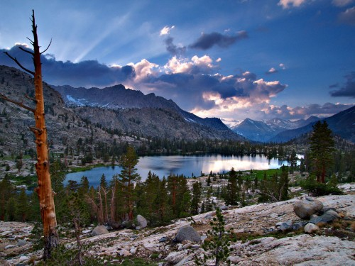 Arrowhead Lake in the High Sierra  - a jewel of the West. Photo by Aaron Doss