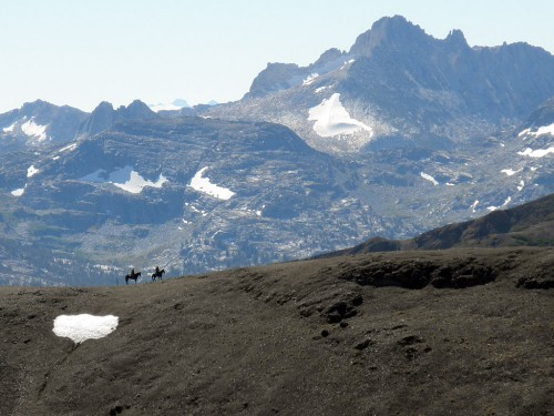 Equestrians on the Pacific Crest Trail. Photo by Dick Pattee
