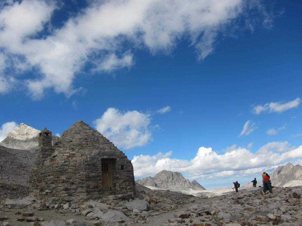 Muir Hut on top of Muir Pass, John Muir Trail. Photo by Jack Haskel