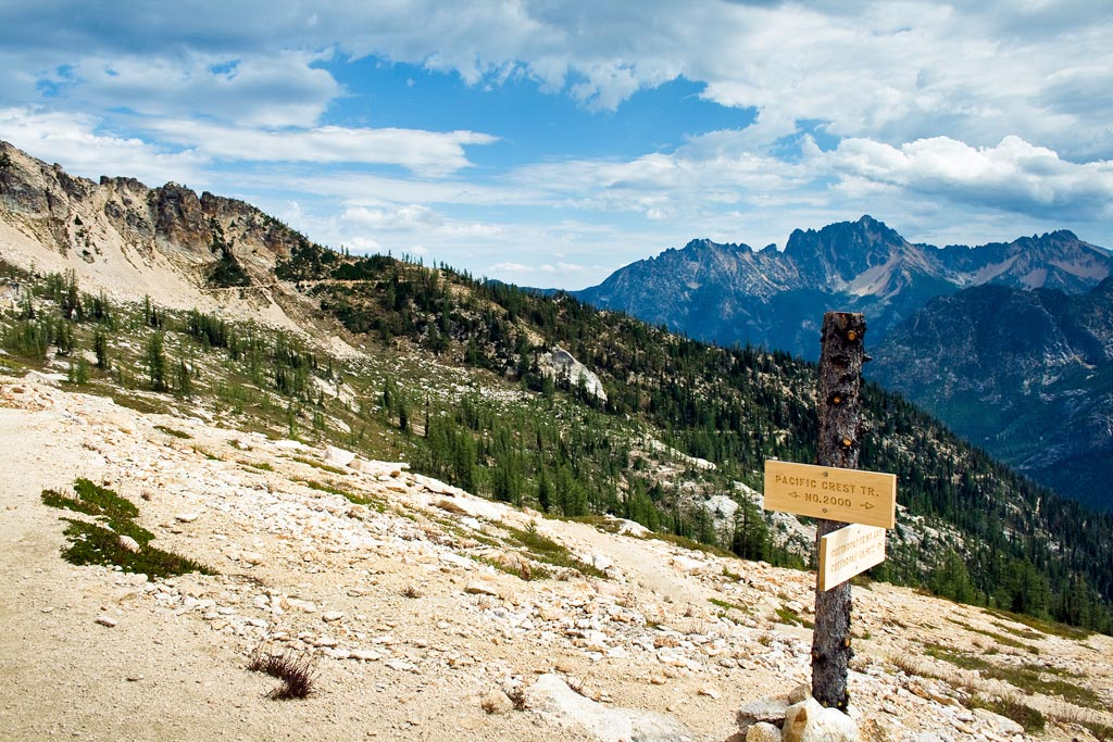 PCT sign. Photo by Ryan Weidert