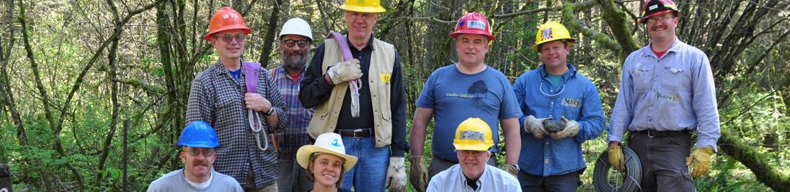 PCT Volunteer group partnerships. Photo by Cynthia Higgins