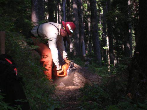 Leif Hovin on Huckleberry Trail
