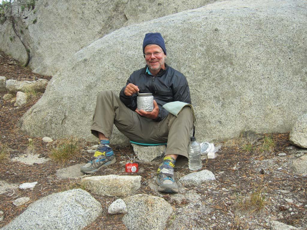 Granite; the ever popular backrest.