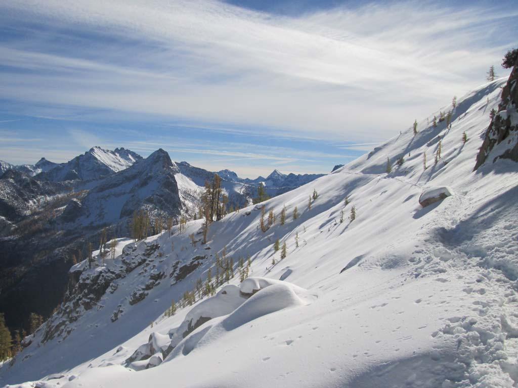 Snow can be fun, beautiful and dangerous. Photo by Carolyn Burkhart.