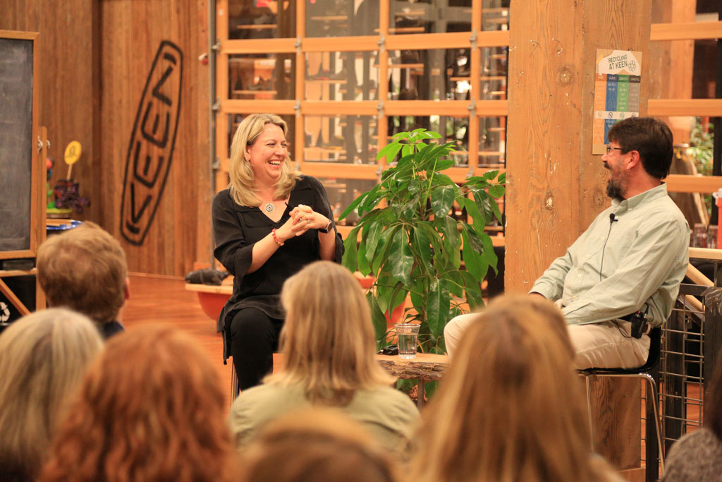 It's hard to talk about the PCT with Cheryl Strayed and not dive into the hilarious trail stories.