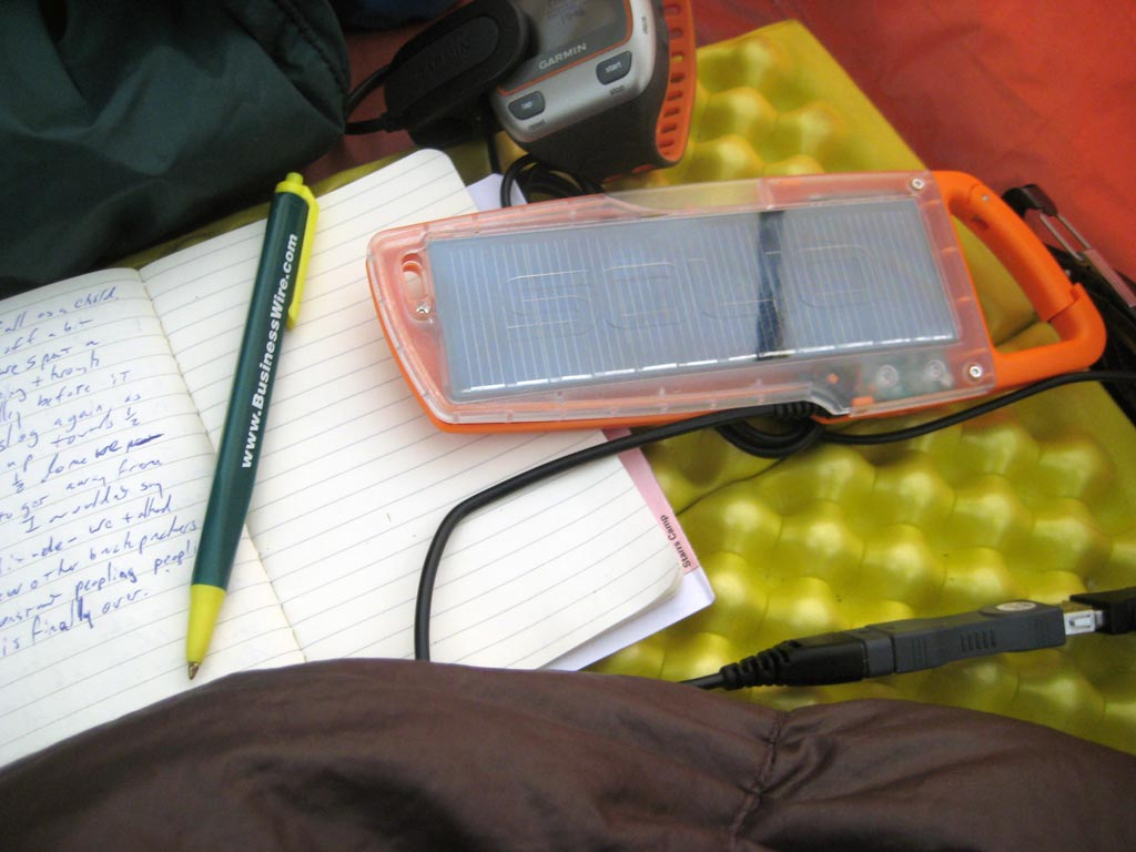 Modern technology in the backcountry has led to an explosion in real time journaling. [Photo: Matt Honan/Flickr/CC]