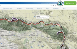 Explore water sources, campsites, and trail heads on our interactive map!