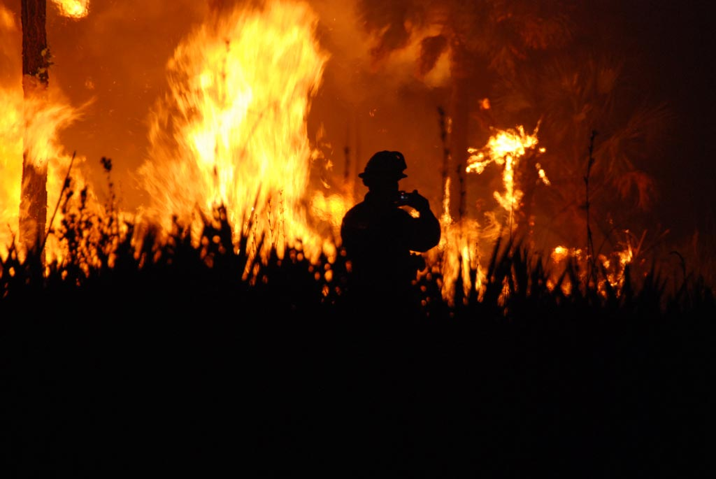 U.S. Forest Service fire fighters will be active on the PCT this year. [photo: Josh O'Connor - USFWS/cc]