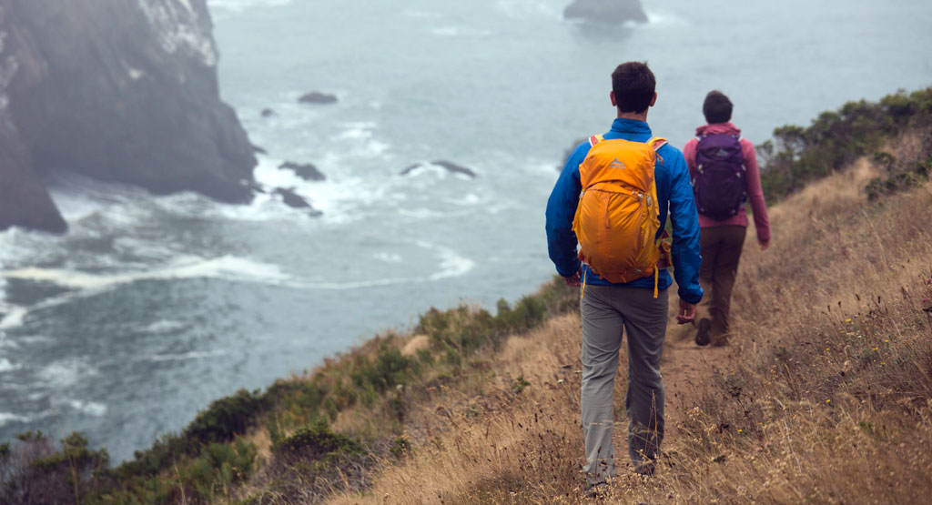 The Gregory Z series along the west coast. Want a free pack? [photo by Emily Polar]