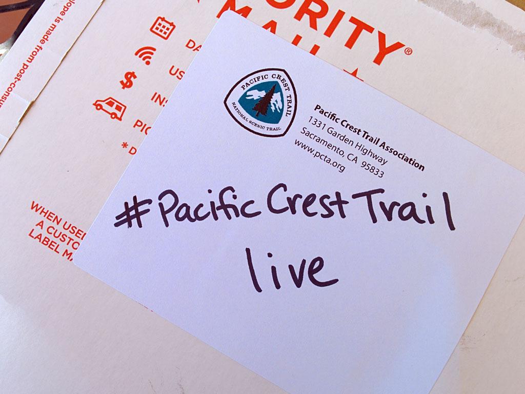 Pacific Crest Trail hashtag aggregator