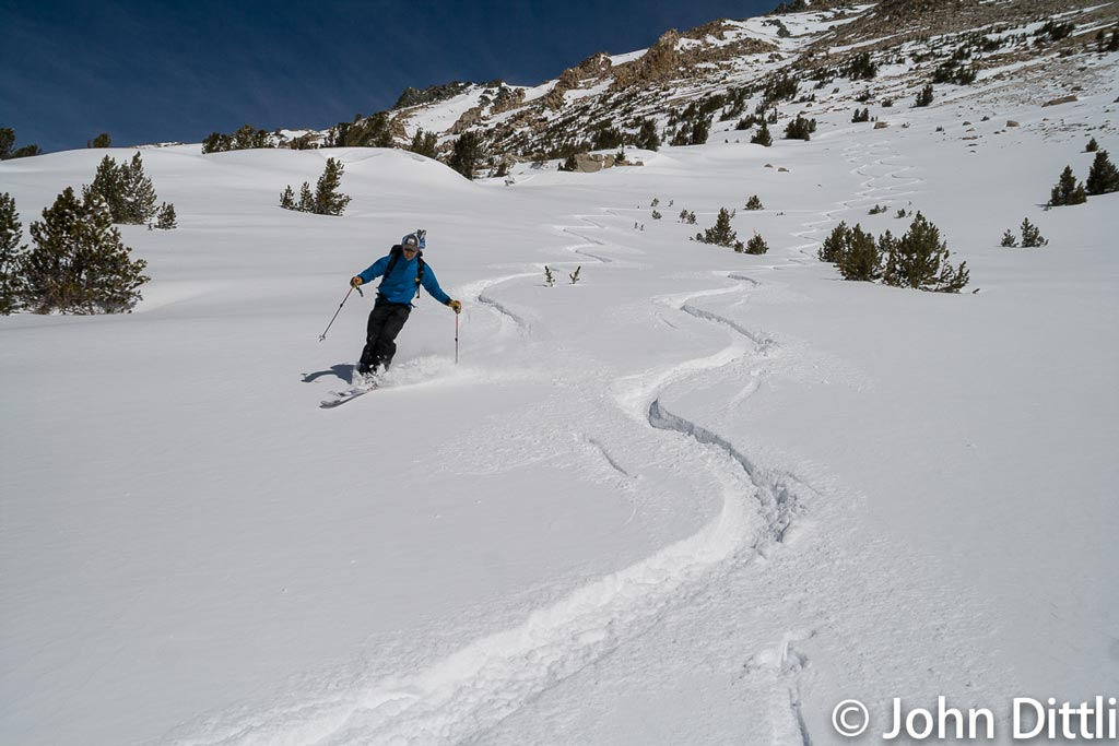 At the time of writing, it's prime ski season in the High Sierra.