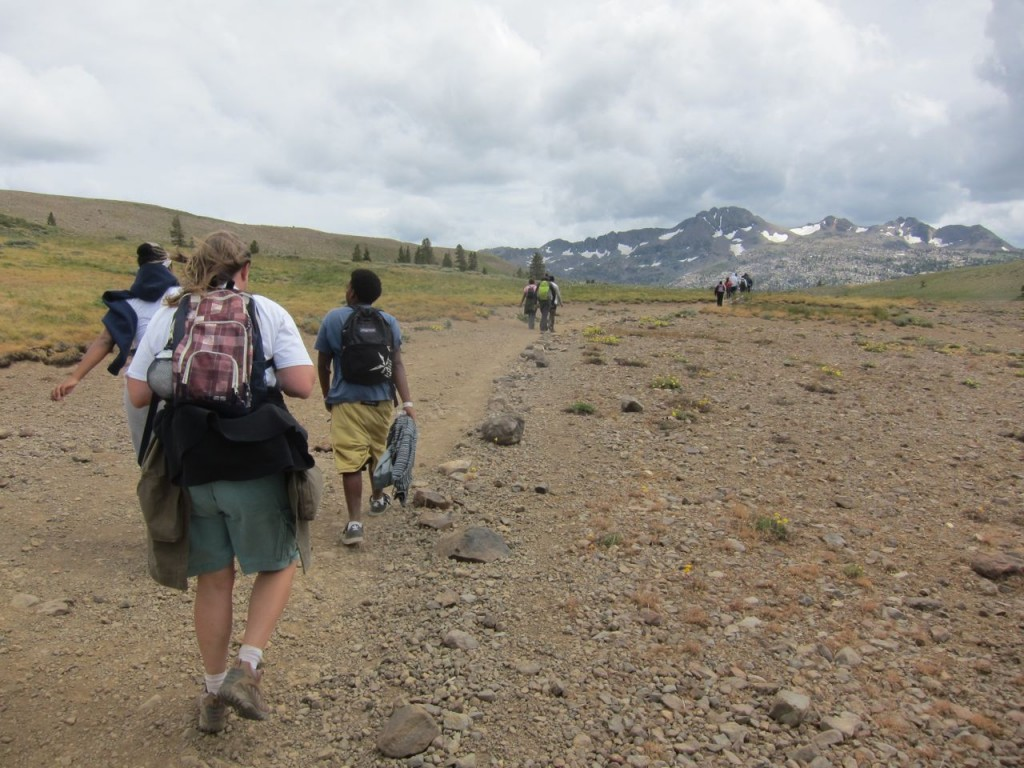 Beth Southorn on the Pacific Crest Trail