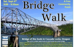 PCT Bridge Walk 2014 Poster