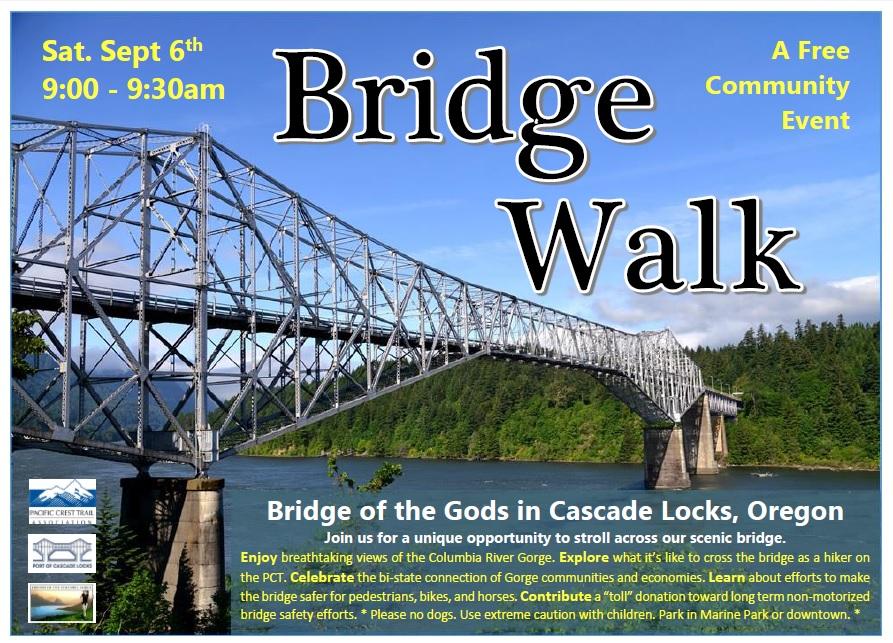 PCT Bridge Walk 2014 Poster
