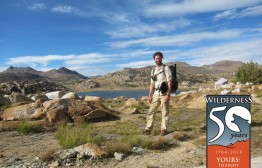 Jack Haskel in Emigrant Wilderness, just off the PCT, last week.