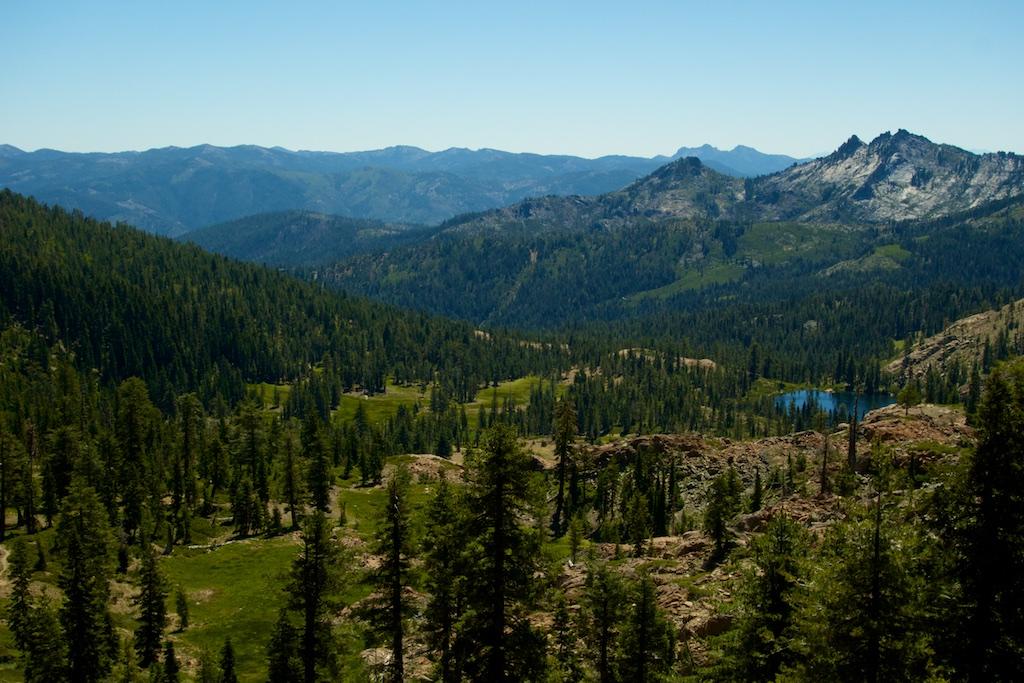 Trinity Alps. Northern California