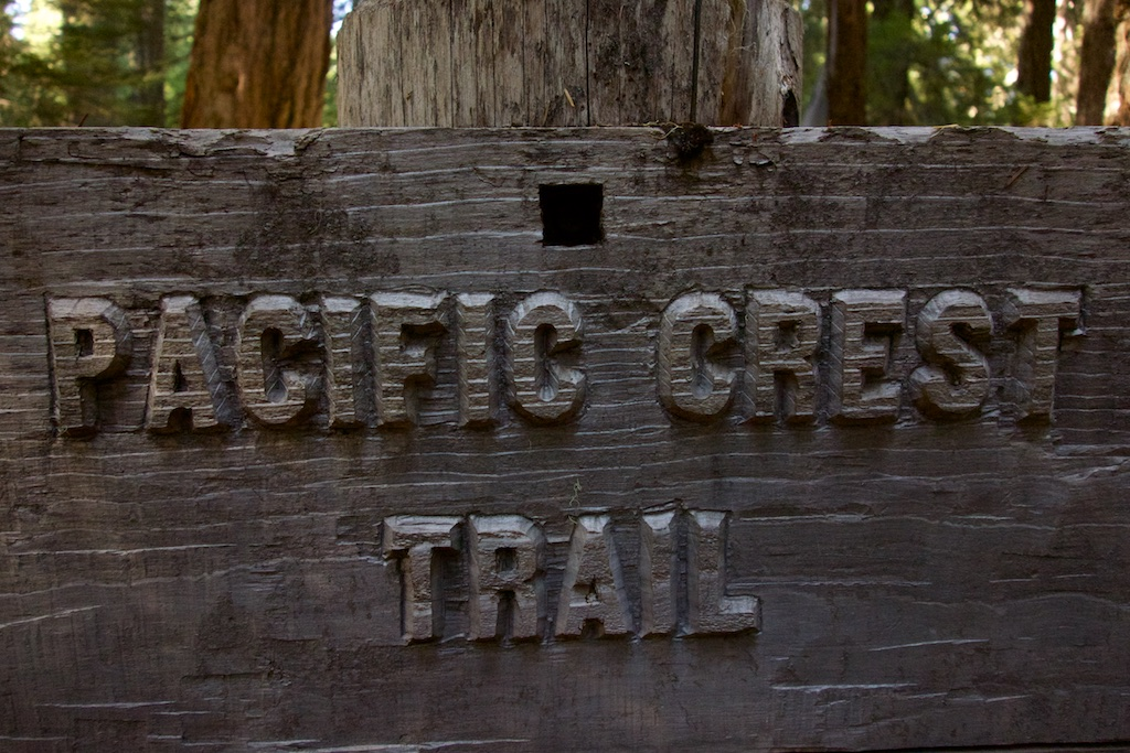 The beautiful sign reflects the love that care takers put into trail. Oregon