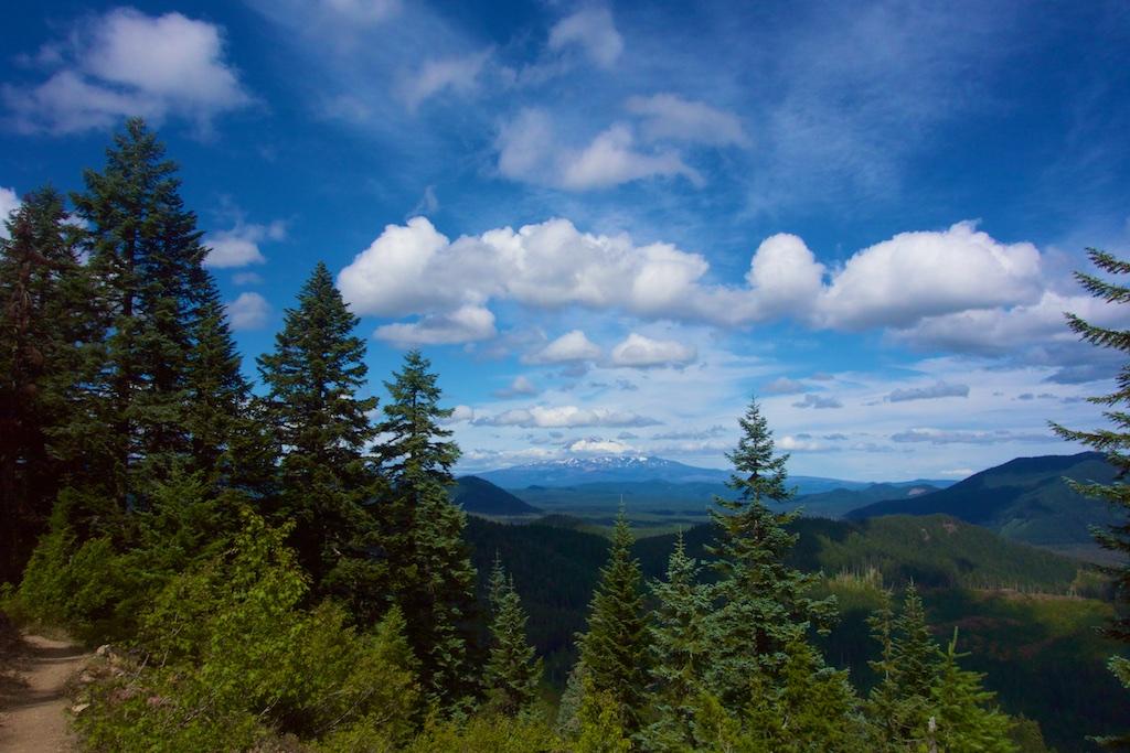 Washington state reveals a new landscape to the thru-hiker. Washington State