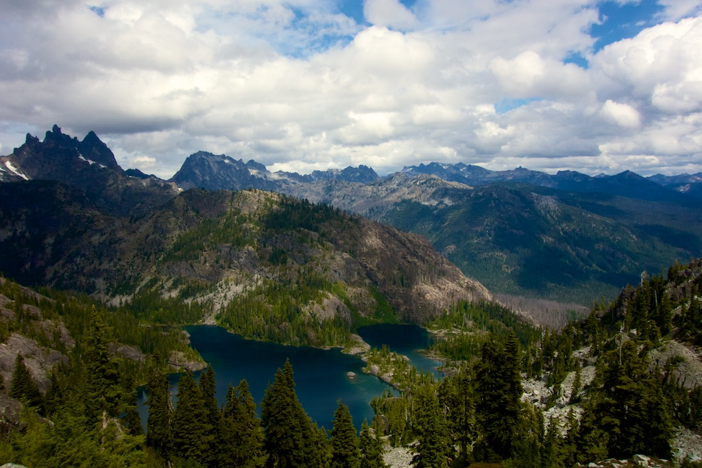 Between Snoqualmie and Stevens pass lies a breathtaking and utterly remote 75 mile stretch of wilderness. Washington State