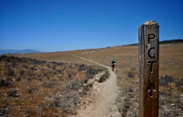 The Pacific Crest Trail just south of Warner Springs, California. Photo by: Carter Chaffey