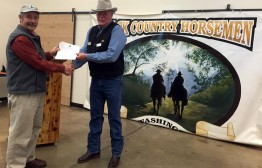 PCTA Partners with Back Country Horsemen of Washington On Saturday March 21st, Trygve Culp, President of Back Country Horsemen of Washington, signed a new Letter of Partnership with the Pacific Crest Trail Association and U.S. Forest Service.  This document represents two years of discussions that now clearly define how the two trail-advocate organizations and the U.S. Forest Service will work together in the State of Washington. While the partners have worked together for many years, this document formalizes and strengthens the partnership. The BCHW and the 180 participants at the 2015 Rendezvous in Ellensburg welcomed PCTA members with open arms. BCHW packers will be providing support for at least eight crews this season and many more in coming years. Without these great partners, PCTA crews would not be able to work on the PCT in places like Goat Rocks and Glacier Peak Wildernesses.  Bill Hawley (PCTA Regional Representative – North Cascades) and Trygve Culp (Pres. BCHW)