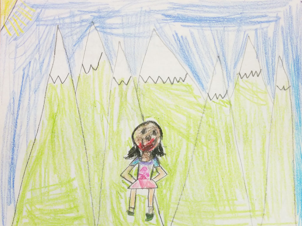 Pacific Crest Trail drawing 6