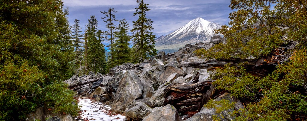 Mount McLoughlin on the Pacific Crest Trail. Photo: Mick McBride