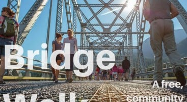 Come walk the Bridge of the Gods at this special event!
