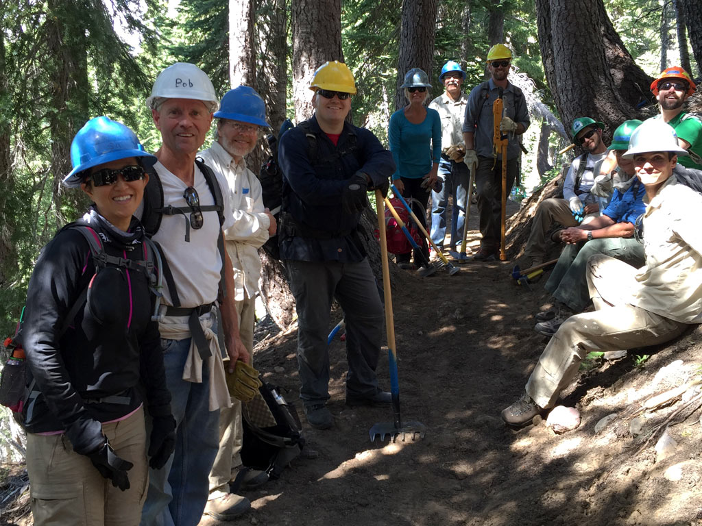 Thank you to all that attended the Tahoe Trail Skills College! Your willingness to volunteer on the Pacific Crest Trail ensures that others can enjoy it!
