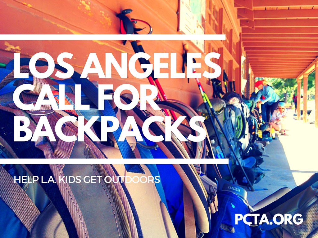 Help outfit kids and clear out your gear closet at the same time. Packs needed soon for 70 kids in West LA.