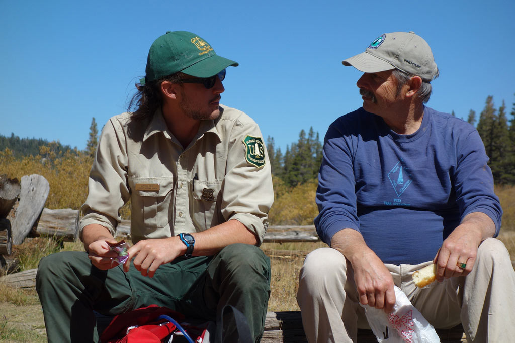 Friends and partners, in the truest sense. It truly does take a community to make the PCT.