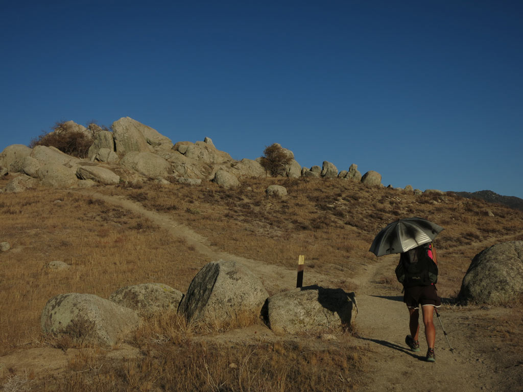 Walking the PCT southbound across southern California was a quiet and peaceful time.