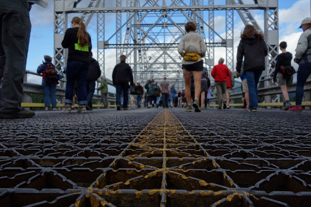 Bridge Walk 2015 was a huge success and brought lots of people out to walk across the Bridge of the Gods.