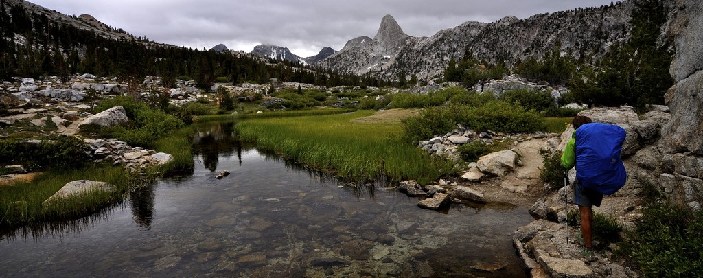 The Rae Lakes area. Photo by Carter Chaffey.
