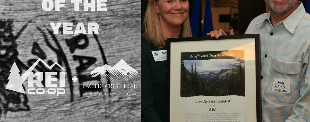 REI, thanks for your decades of support for the Pacific Crest Trail!