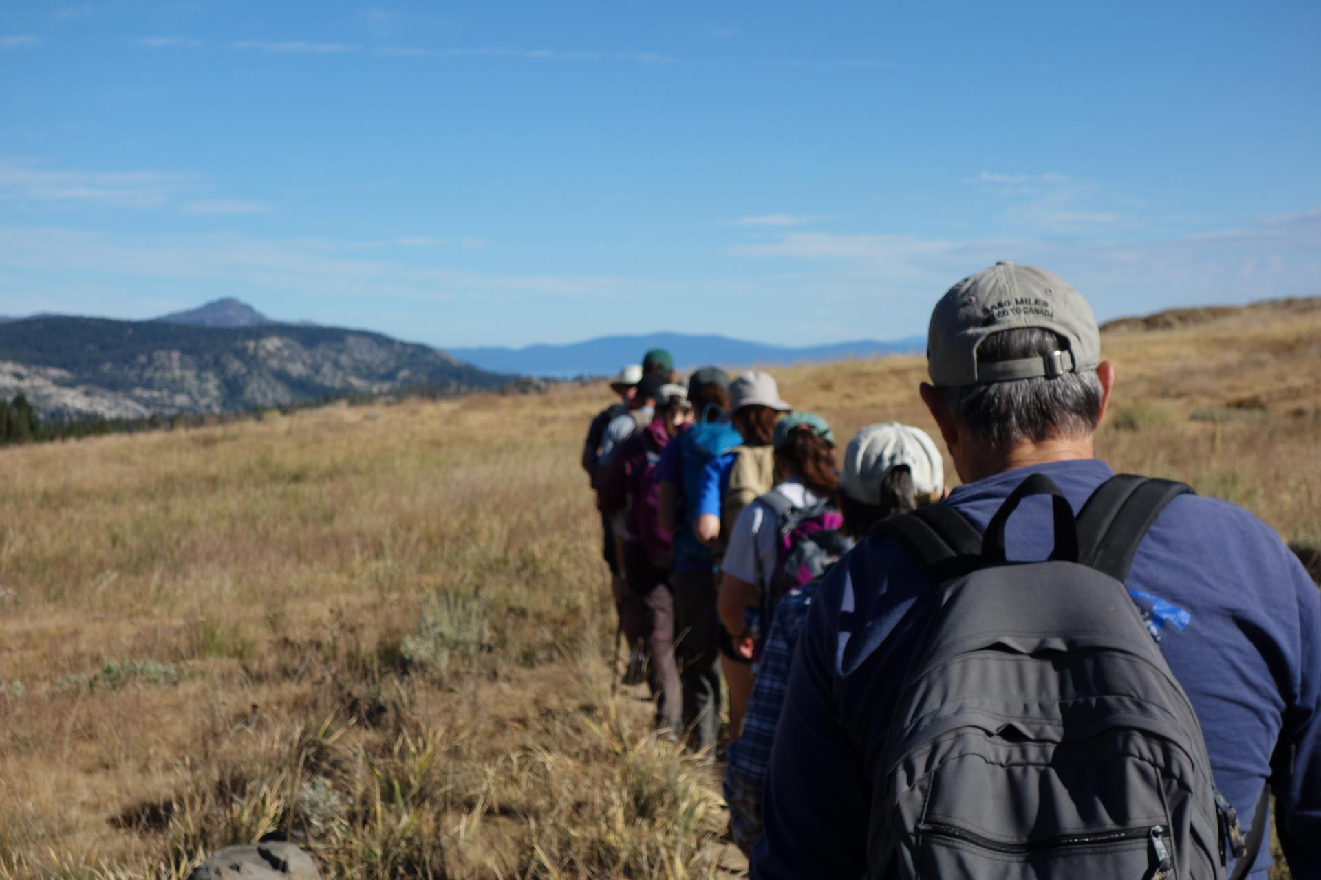 Joining a hiking club is a great way to get out and meet new people that share your passion.