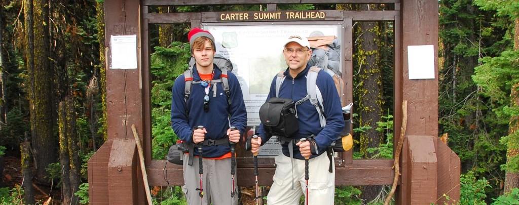 Carter Summit Trailhead on the PCT