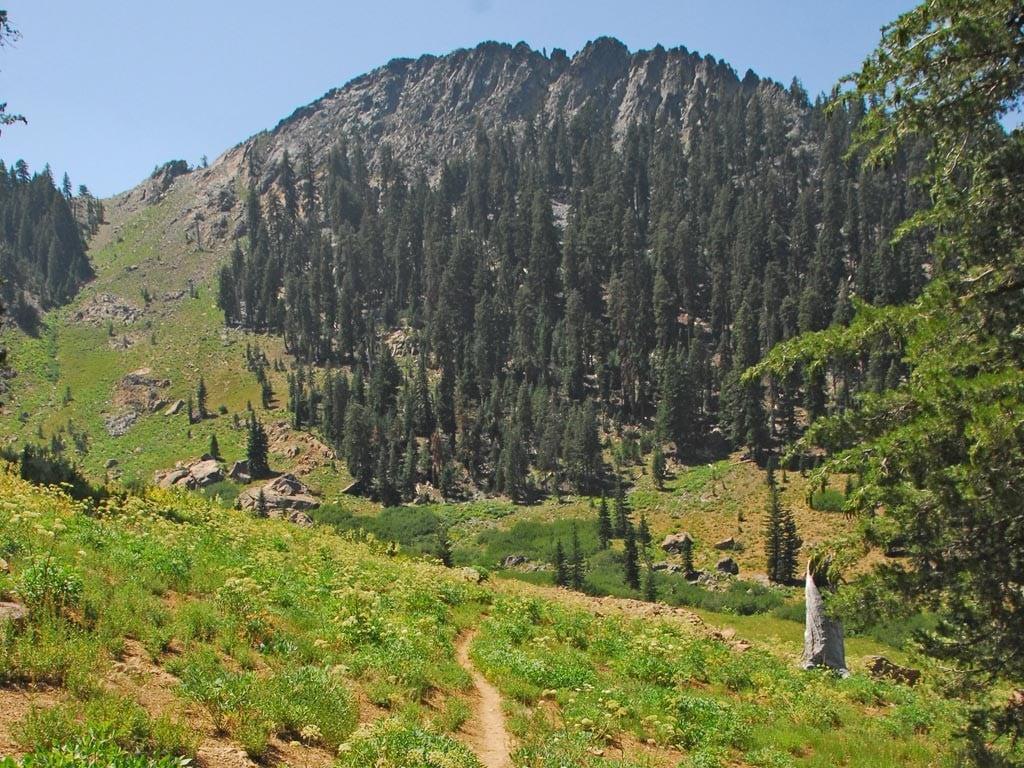 PCT mountains