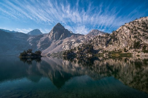 The Painted Lady above Rae Lakes on the Pacific Crest Trail.