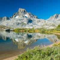 Thousand Island Lake on the Pacific Crest Trail/John Muir Trail.