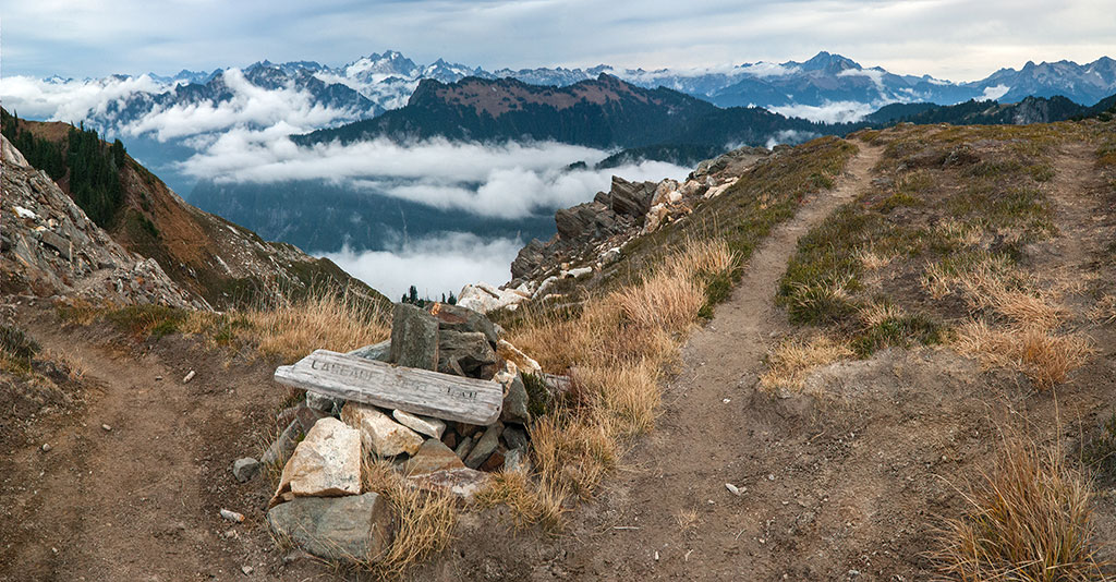 Fire Creek Pass on the Pacific Crest Trail. Photo by Ed Pabor.